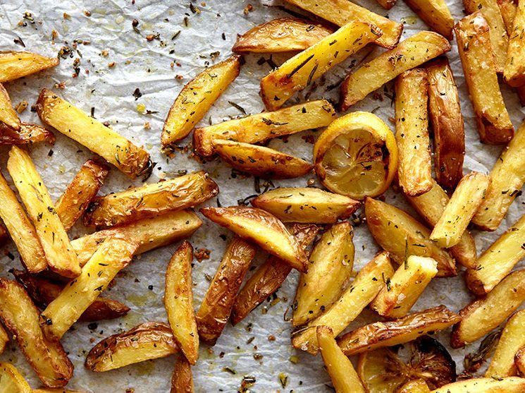 Постный рецепт картофеля фри в домашних условиях