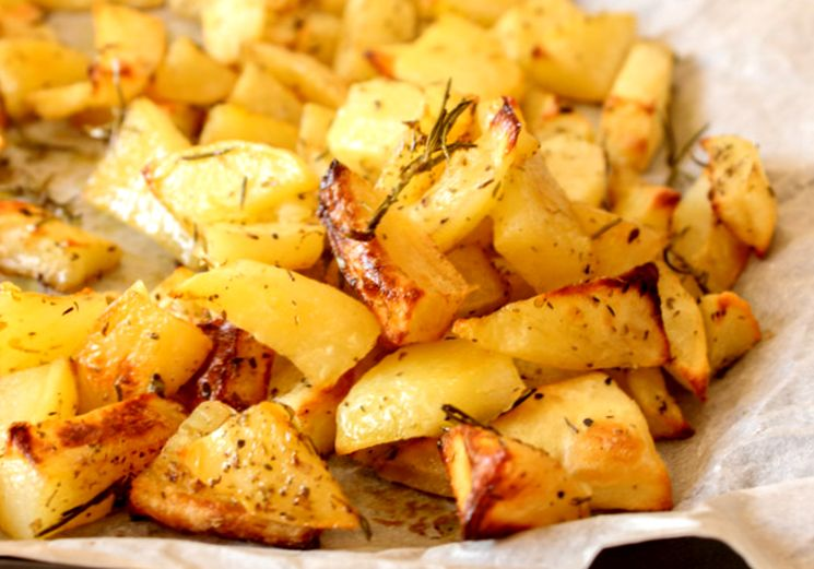 Рецепт картошки по-деревенски