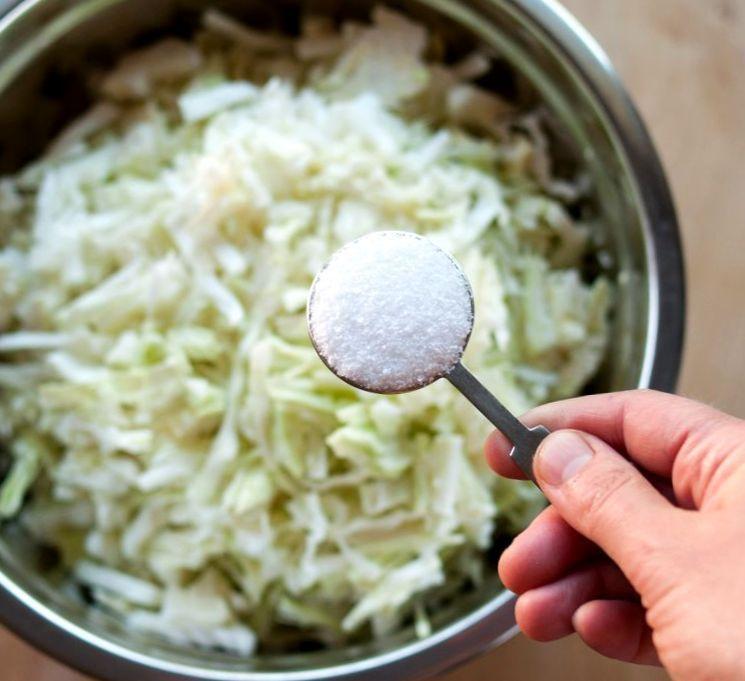 Домашний рецепт квашенной капусты
