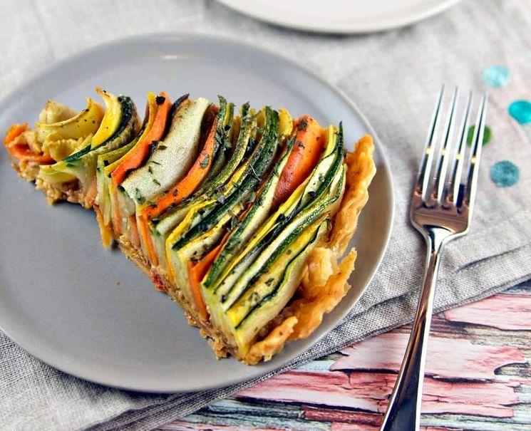 Лучший рецепт овощного пирога