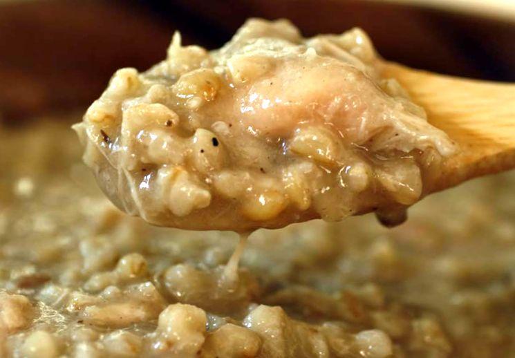 Рецепт пшеничной каши с мясом