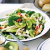 Салат с куриной грудкой и киви