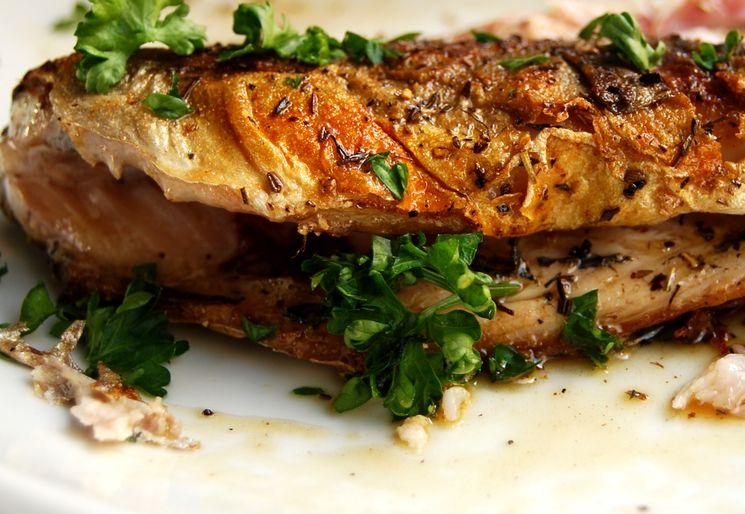 Рецепт скумбрия-гриль в духовке