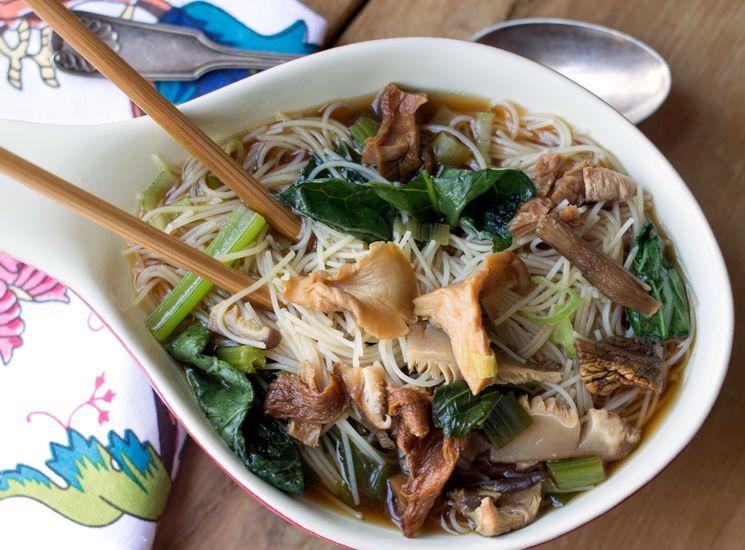 Рецепт супа из сушеных грибов