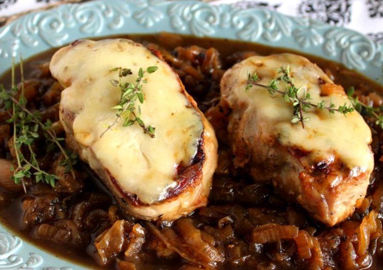 Рецепт свинины по-французски с сыром
