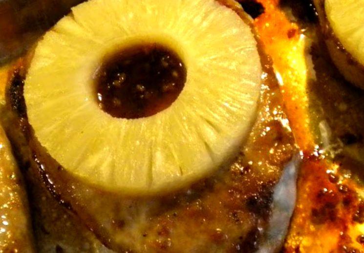 Рецепт свинины с ананасом на новогодний стол
