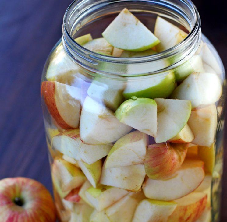 Рецепт уксуса из яблок
