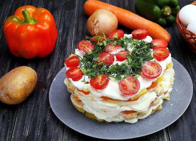 Рецепт вкусного салата с грибами и сыром