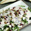 Легкий салат с грушей