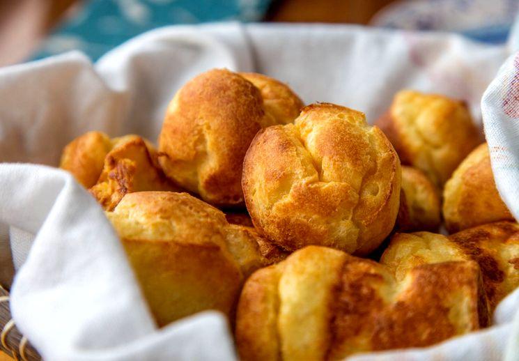 Рецепт профитролей - закусочные булочки с начинкой