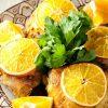 Запеченная курятина с апельсинами