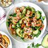 Рецепты салатов с креветками