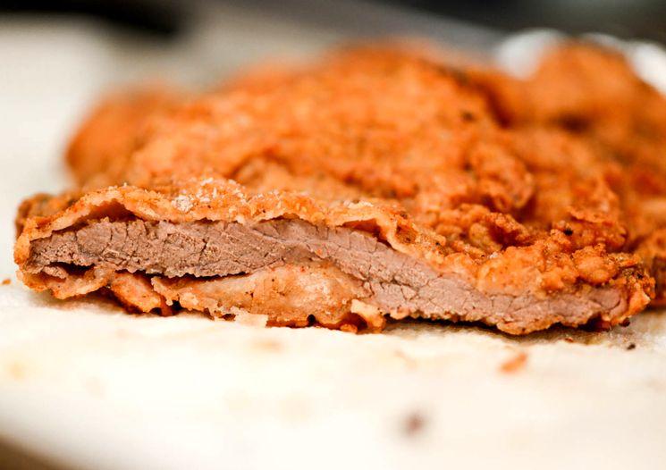 Рецепт - ромштекс из говядины