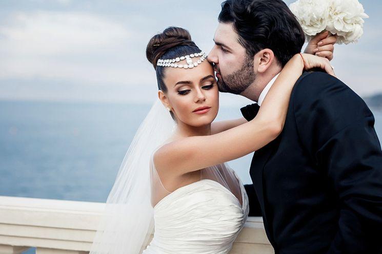 Роскошная свадьба в Монако