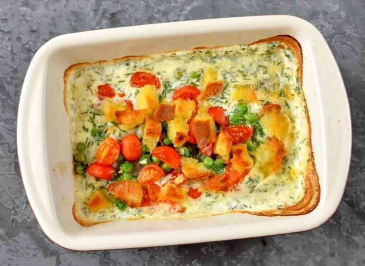 Рыба с овощами в духовке пошагово