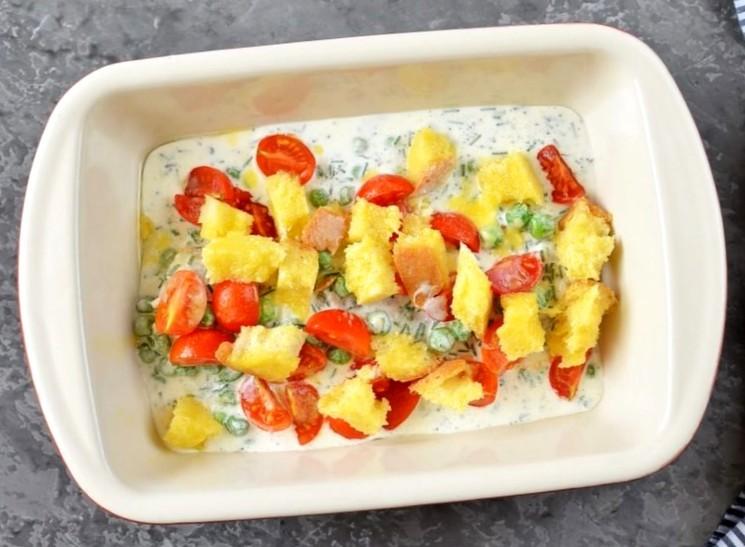 Рецепт рыбы с овощами в духовке - шаг 5