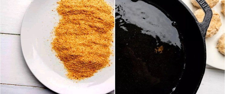 Рыбные котлеты из консервированного тунца - шаг 7