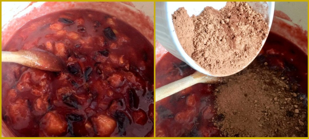 Слива на зиму - рецепт варенья с какао шаг 3