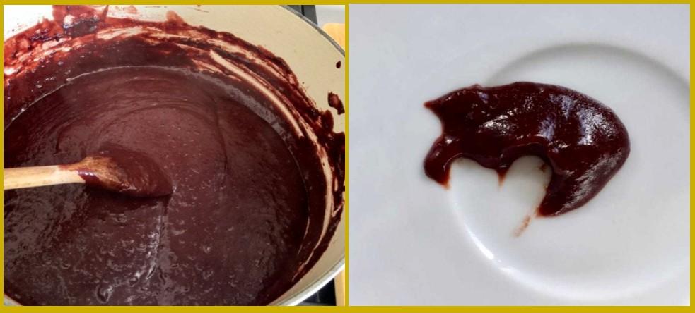 Слива на зиму - рецепт варенья с какао шаг 5