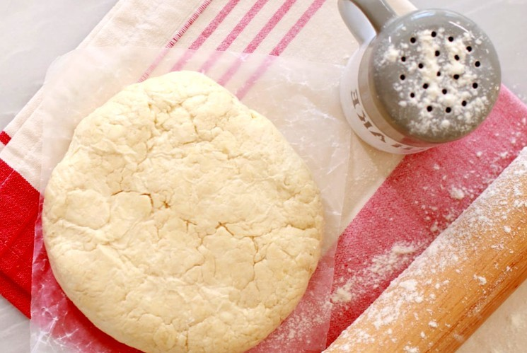 Слоеное тесто - 10 минут