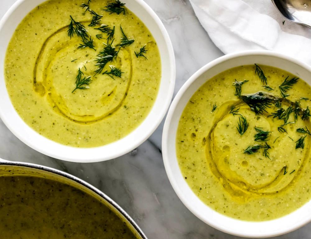Суп пюре из цукини - простой рецепт