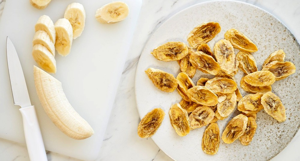 Как сушить бананы в микроволновой печи