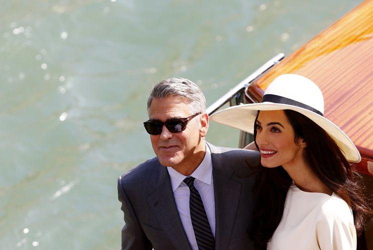 Свадьба голливудской звезды Джорджа Клуни