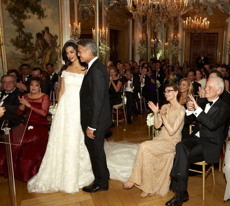 Свадьба голливудской звезды Джорджа Клуни и Амаль Аламуддин