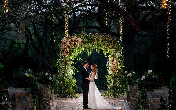 Организация свадьбы в лесу