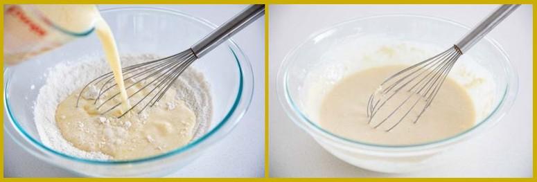 Пошаговый рецепт теста для Венских вафель