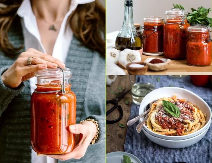 Томатная паста - рецепт томатного соуса с базиликом