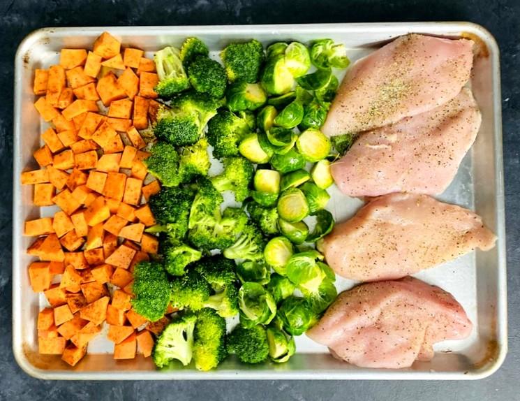 Ингредиенты для приготовления вкусного ужина