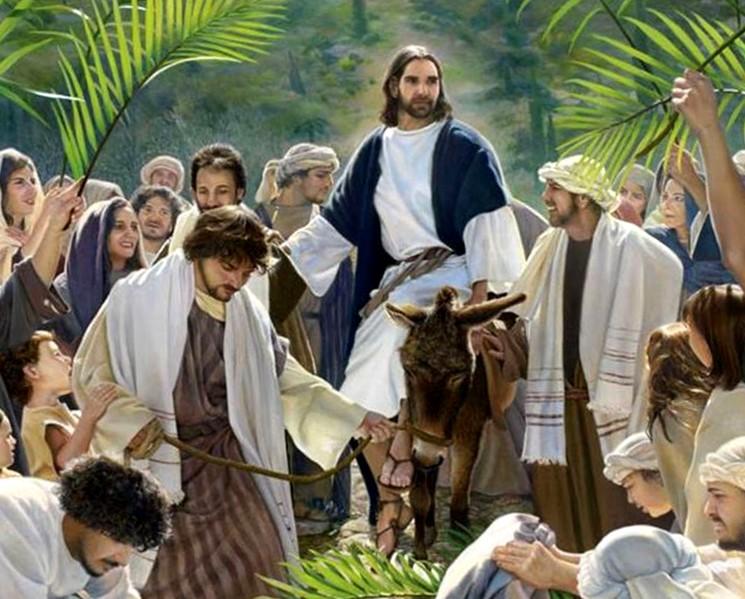 Вербное Воскресенье - Вход Господен в Иерусалим