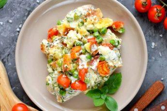 Вкусная рыба в духовке с овощами - пошаговый рецепт с фото